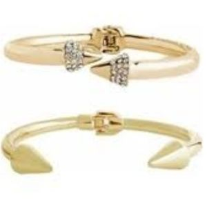 Sterling Forever 14K Plated CZ Set of Bracelets